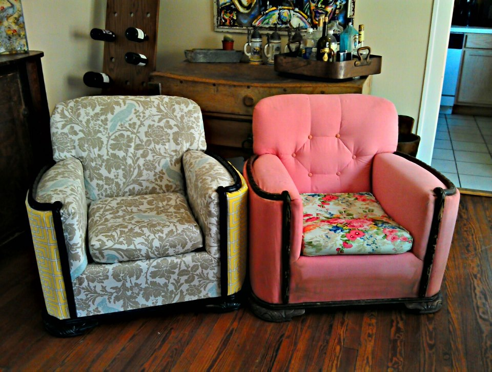Cost To Reupholster Wingback Chair Vote For Our Chair Reupholstering Project on Instructables!